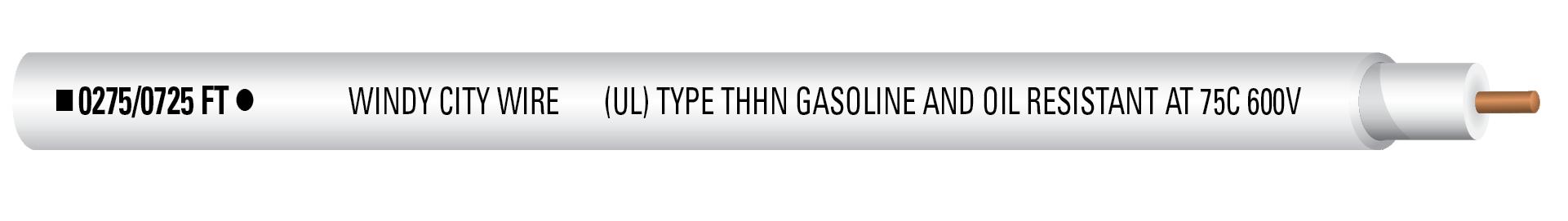 14-1C SOL THHN 600V Wht