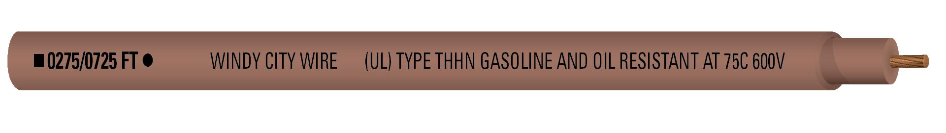 14-1C STR THHN 600V Brn