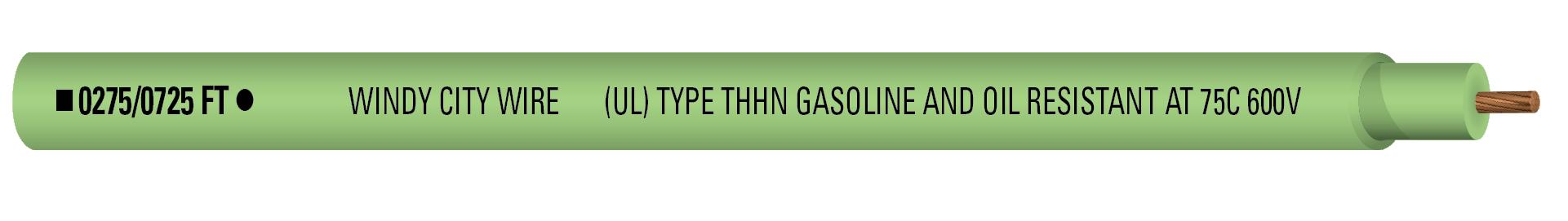 14-1C STR THHN 600V Grn