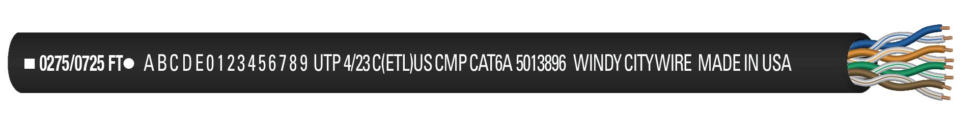 CAT6AP-BLK
