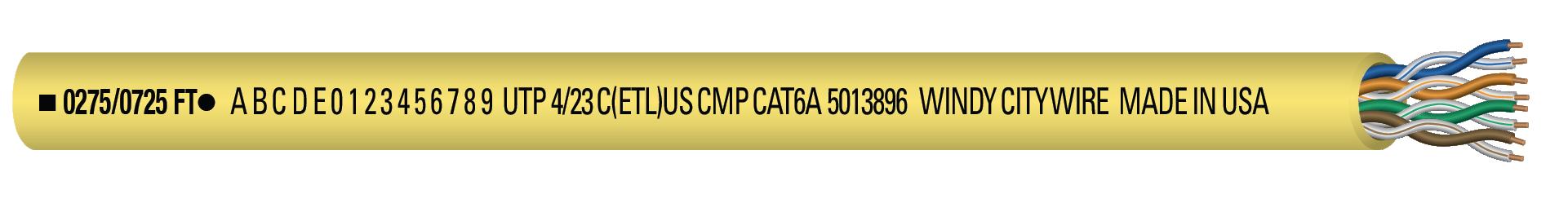 CAT6AP-YLW
