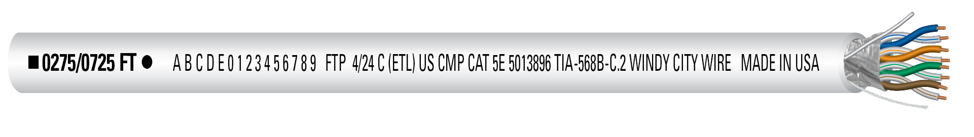 CAT5SP-WHT